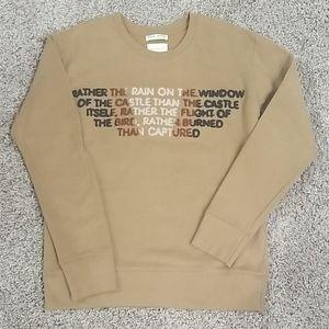 Multi colored graphic sweatshirt